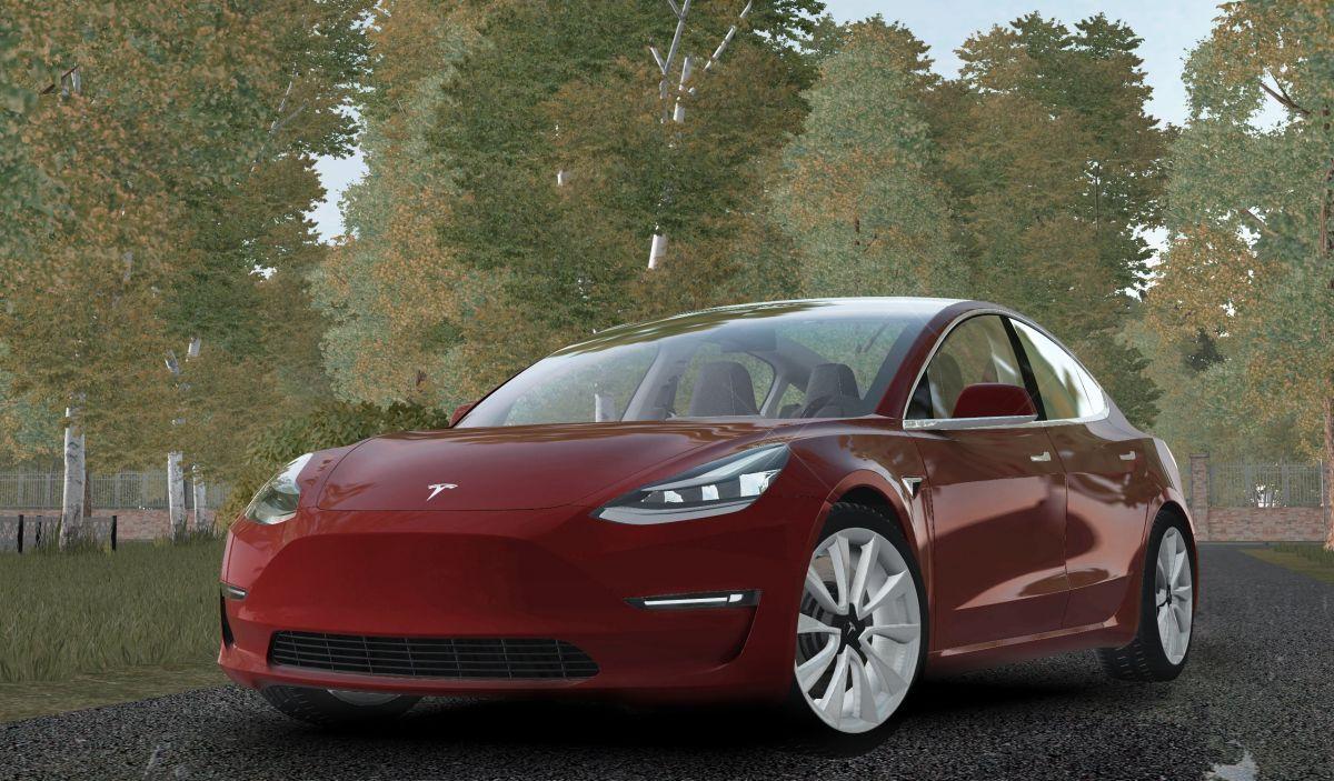 Tesla Model 3 2018 - CCD Cars - City Car Driving - Mods ...