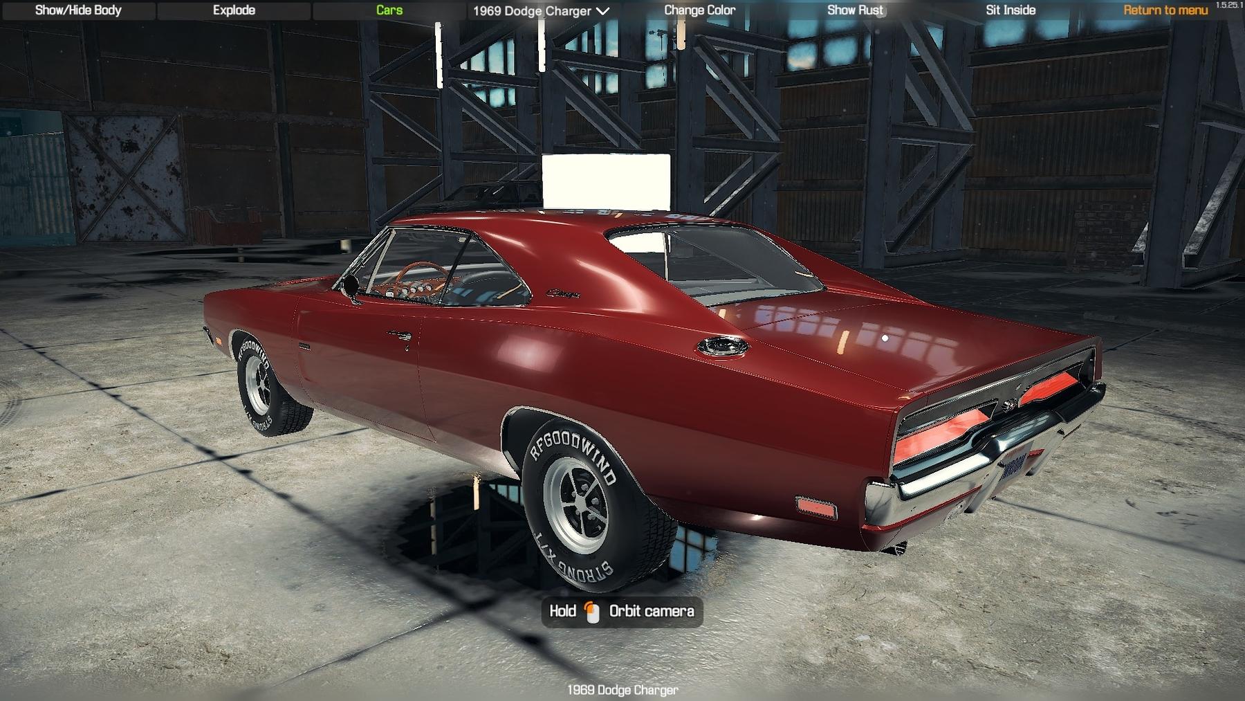 Dodge Viper Tires >> Dodge Charger 1969 - CMS 2018 Cars - Car Mechanic Simulator 2018 - Mods - Mods for Games ...