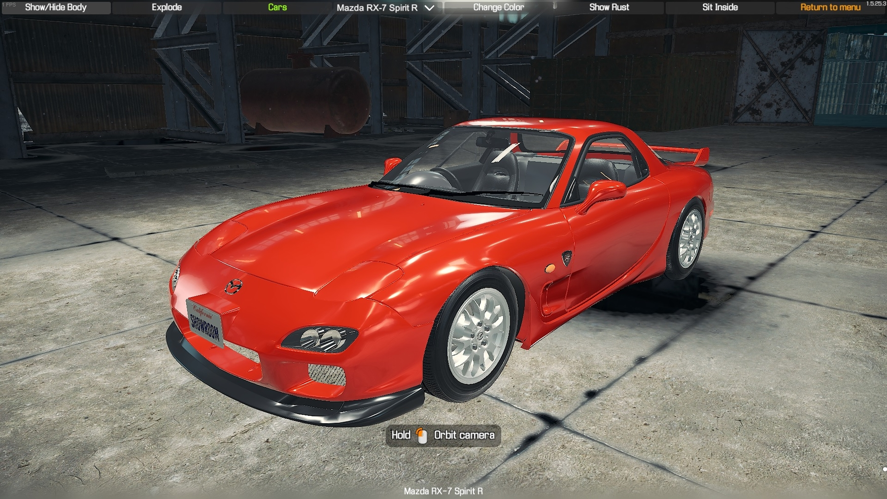 2002 Mazda Rx7 Spirit R Type A - CMS 2018 Cars - Car
