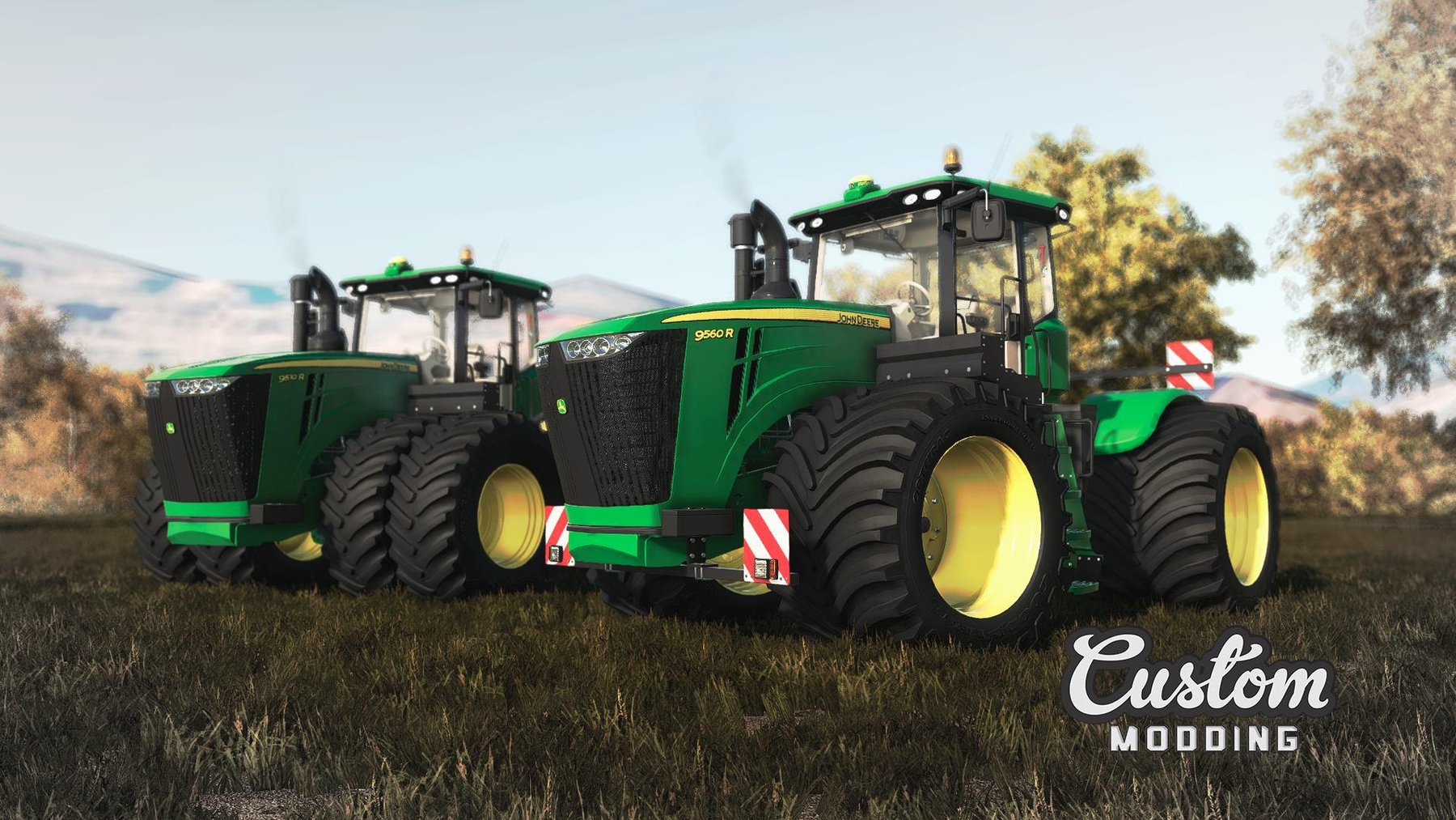 Car Mechanic Simulator 2018 Mods Mods For Games >> John Deere 9R 2014 Series v2.0.0.0 - FS 19 Tractors ...