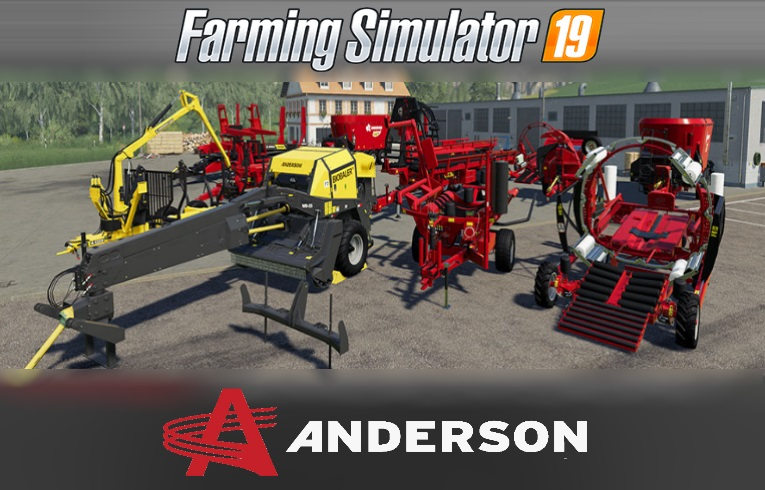THE ANDERSON GROUP DLC RELEASES ON THE 26TH OF MARCH 2019 - FS 19