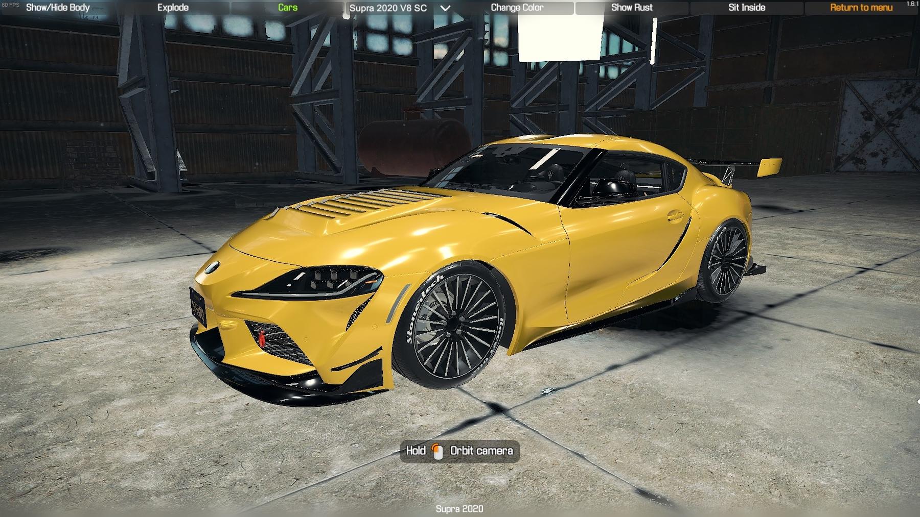 2020 Toyota Supra - CMS 2018 Cars - Car Mechanic Simulator