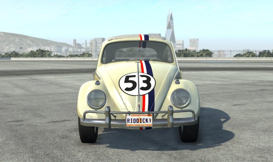 1963 vw beetle - beamng drive vehicles