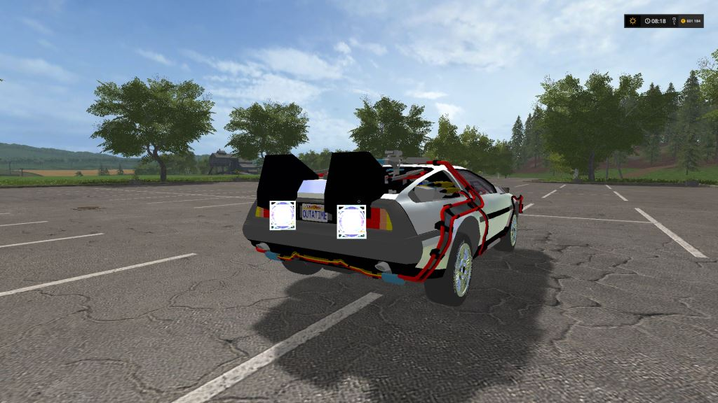 Tractor Trailer Games >> DeLorean DMC-12 - FS 17 Cars - Farming Simulator 2017 - Mods - Mods for Games Community ...