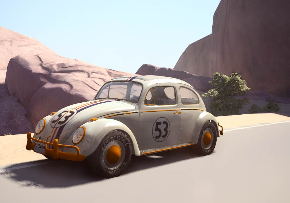 1963 Volkswagen Bug Beamng Drive Vehicles Beamng Drive Mods Mods For Games Community