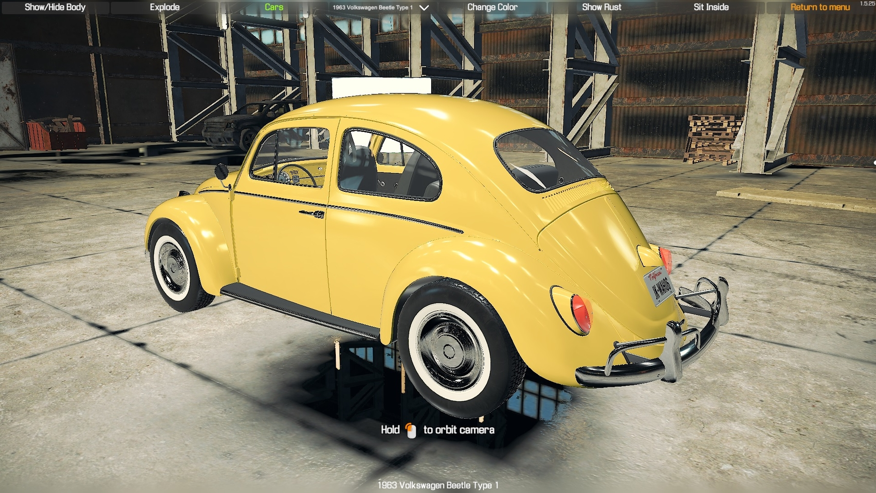 1963 Volkswagen Beetle Type 1 - CMS 2018 Cars - Car Mechanic